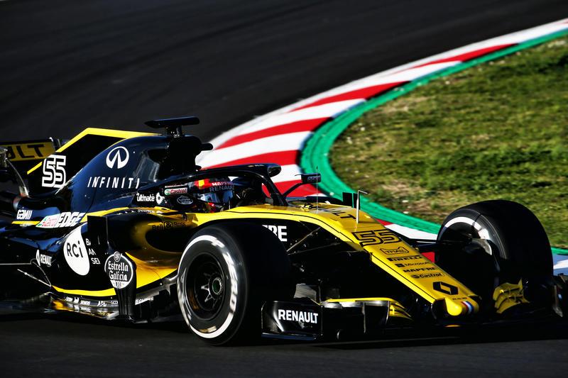 """Test F1 2018   Renault, Sainz: """"Abbiamo fatto dei buoni progressi nella comprensione dell'auto"""""""