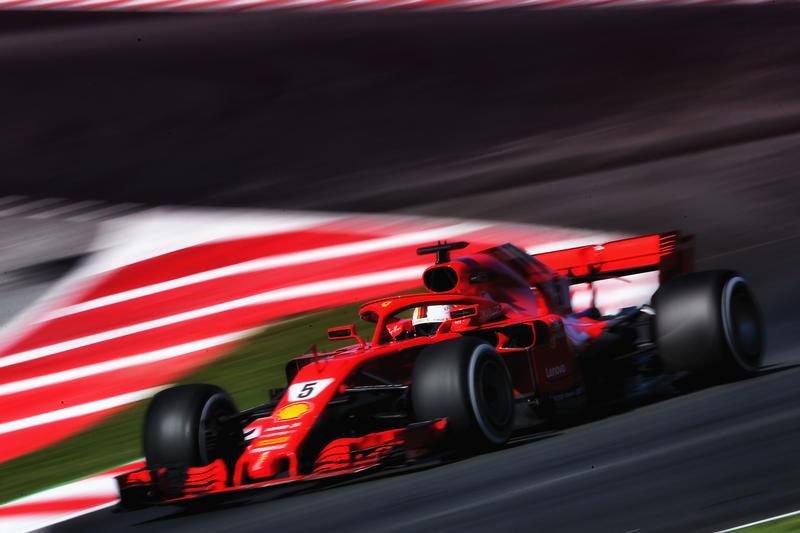 Test F1 Barcellona 2018, Sessione 2 – Giorno 3: Vettel inarrestabile al mattino