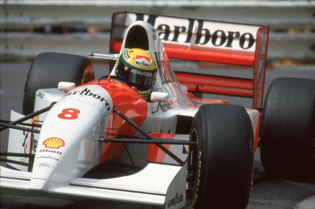 F1 | La McLaren MP4/8A di Senna all'asta al prossimo GP di Monaco