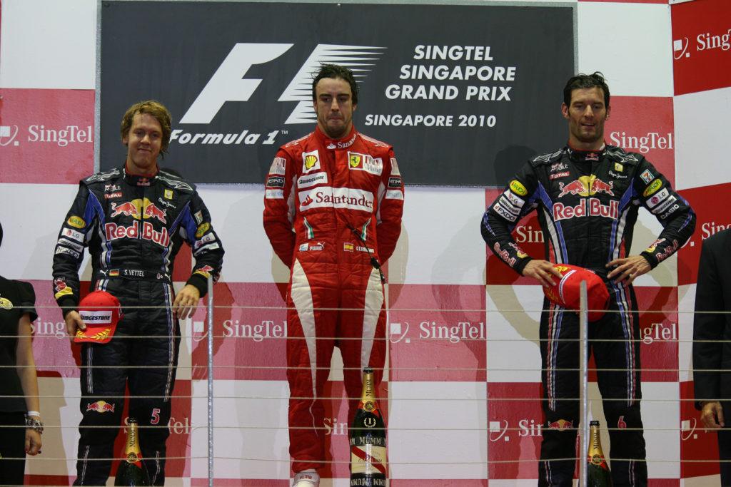 Formula 1 | Ferrari sfata il tabù del doppio successo: Italia e Singapore del 2010 ultima doppia trasferta con una Rossa sul gradino più alto del podio