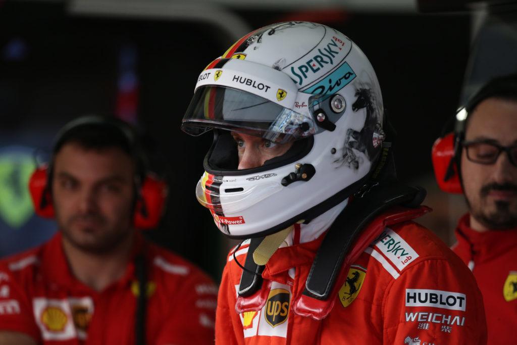 F1 | GP Cina, i particolari del casco di Vettel