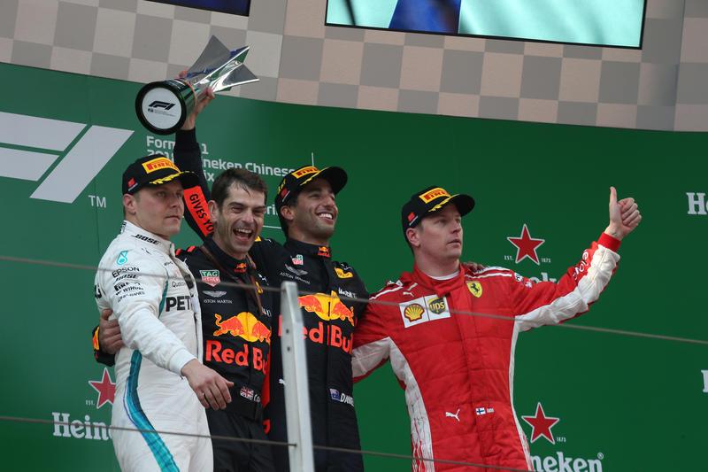 F1 | Pagelle GP Cina – Ricciardo è un giocoliere, Bottas se la meritava, Vettel colpito e affondato…