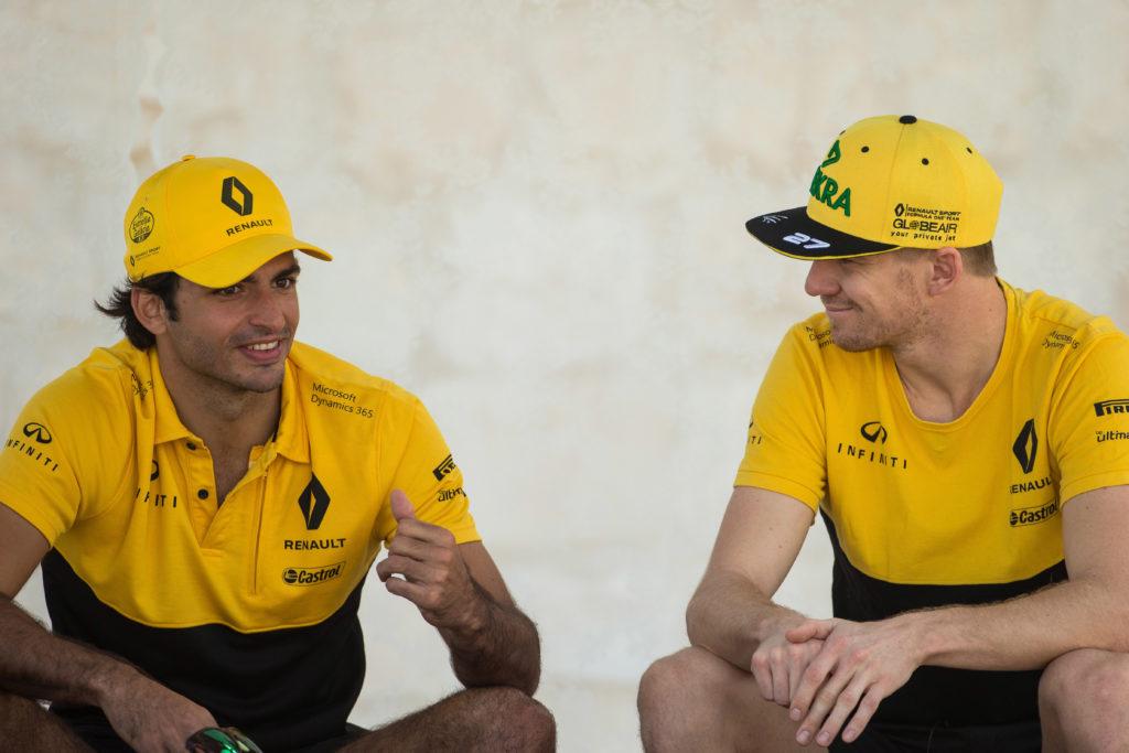 "F1   Renault, Sainz su Hulkenberg: ""È dannatamente veloce, soprattutto in qualifica"""