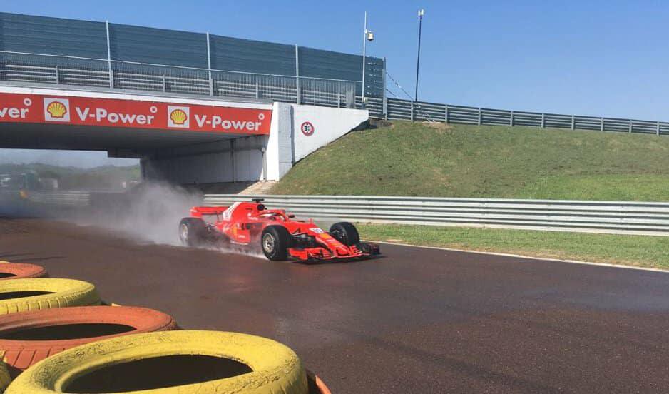 F1 | Giovinazzi in pista a Fiorano per il primo test Pirelli in ottica 2019
