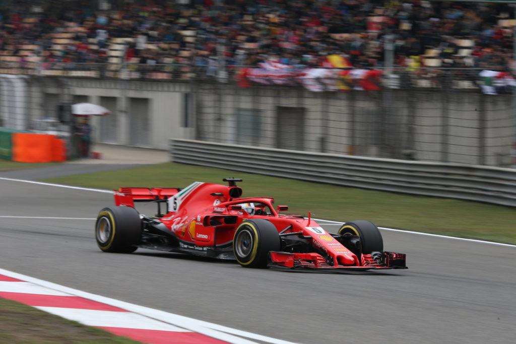 F1 Gran Premio della Cina – Ferrari in prima fila a Shanghai