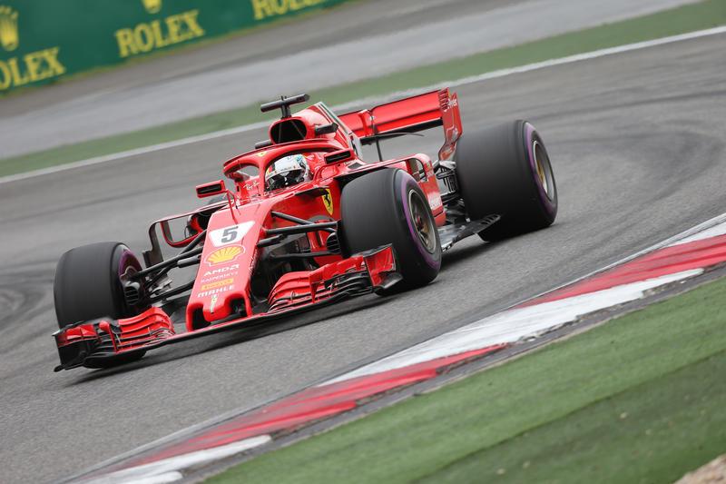 F1 GP Cina, Qualifiche: prima fila tutta Ferrari, Vettel in pole