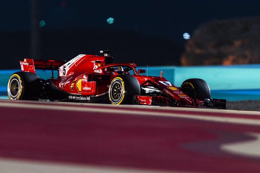 F1 GP Bahrain: trionfo di Vettel sulle due Mercedes