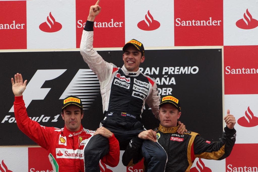 F1 | GP Spagna 2012, l'unica vittoria di Pastor Maldonado in Formula 1