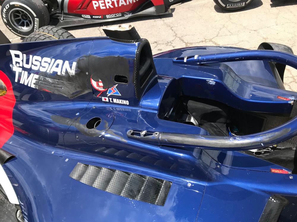 La FIA indagherà sull'incidente di Tadasuke Makino durante la sprint race della Formula 2