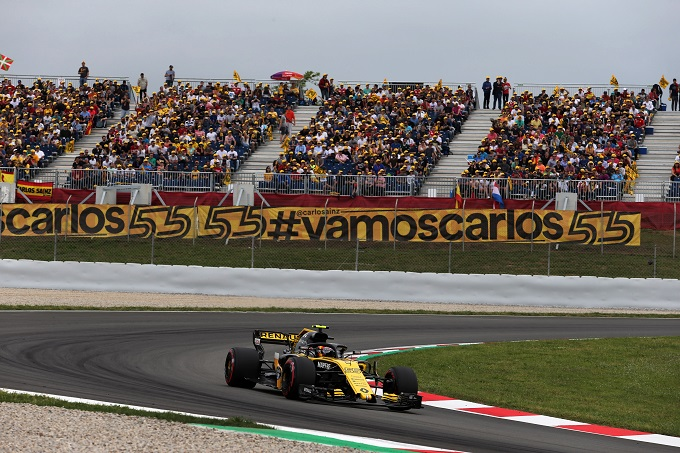 """F1   Renault fiduciosa per la gara: """"L'obiettivo è andare a punti"""""""