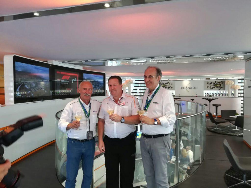Formula 1 | Sparco annuncia l'estensione del contratto con McLaren fino al 2021