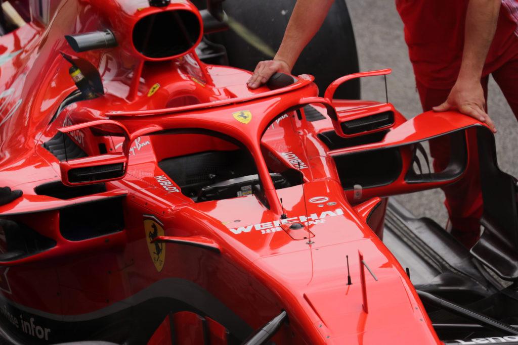 Ferrari SF71H.  Halo Formula 1