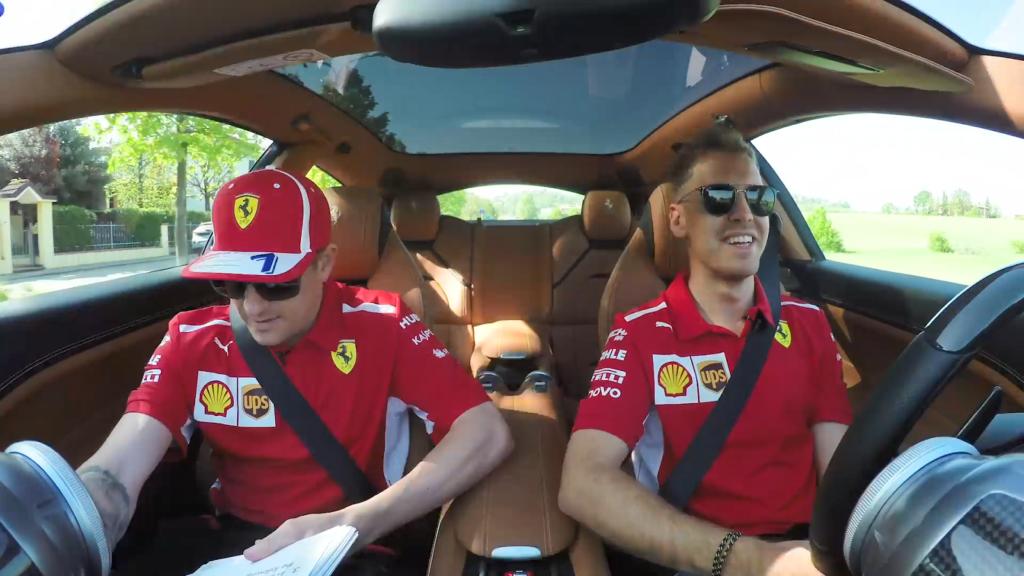 F1 | Ferrari, Raikkonen e Vettel si raccontano in una curiosa intervista al volante
