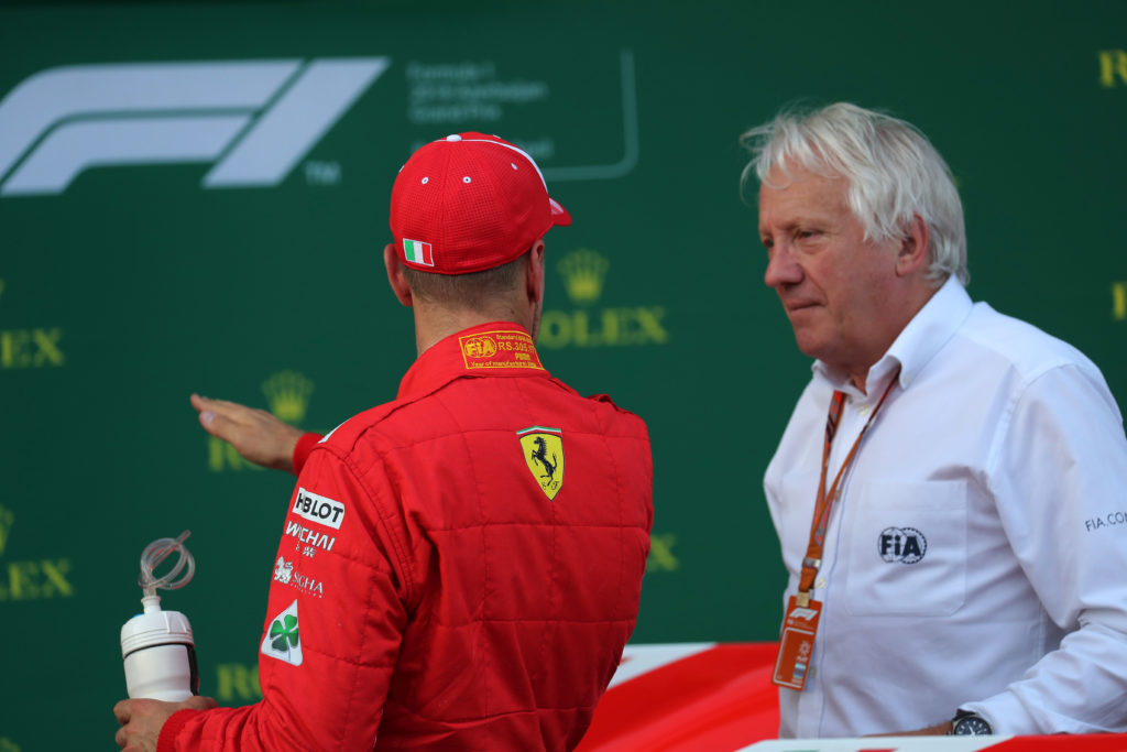 F1 | Ispezione di Whiting ai box Ferrari