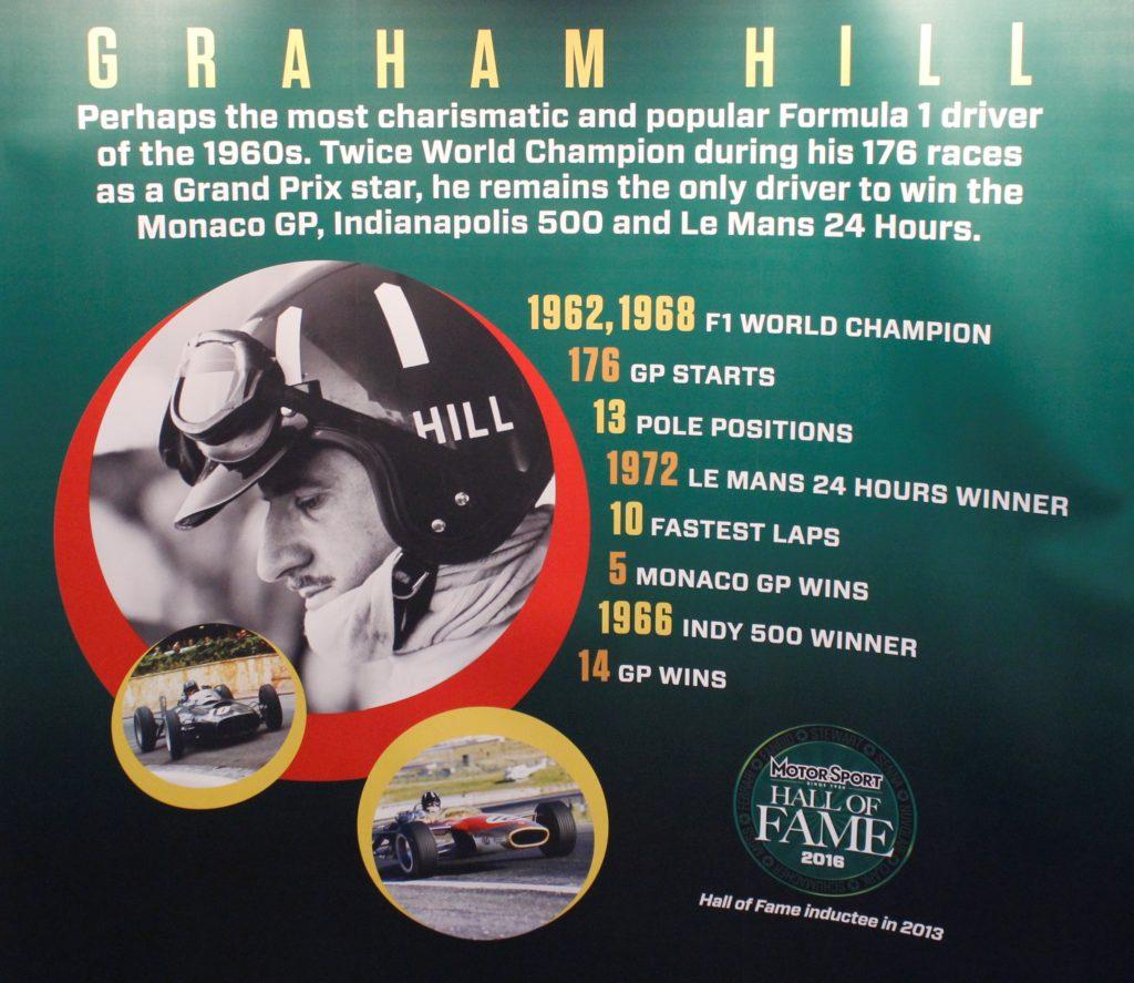 "Graham Hill, l'unico pilota a ""vincere"" la Tripla Corona"