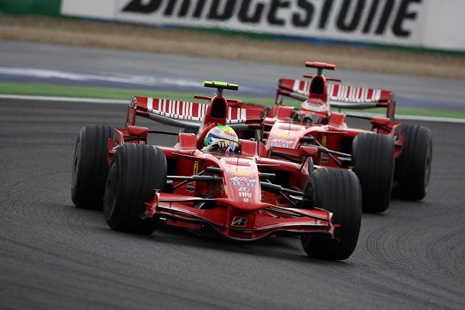 F1 | GP Francia 2008: dominio Ferrari, doppietta Massa-Raikkonen