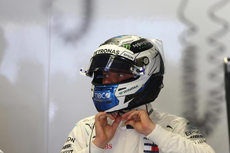 """F1   Bottas: """"Gara piuttosto impegnativa"""""""
