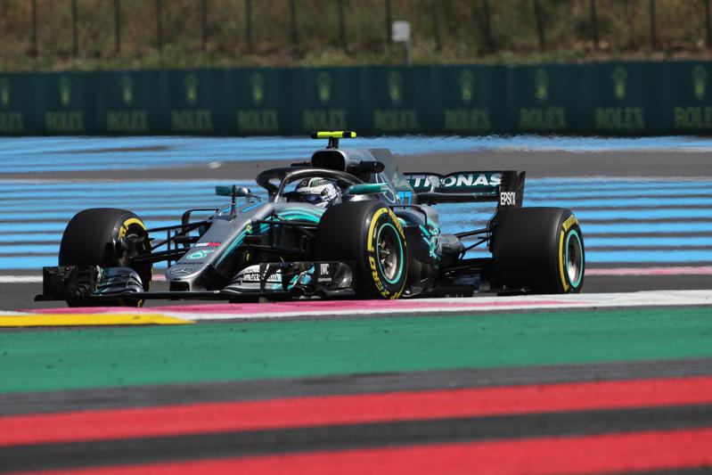 F1 GP Francia, Prove Libere 3: Bottas davanti, ma la pioggia limita l'attività in pista