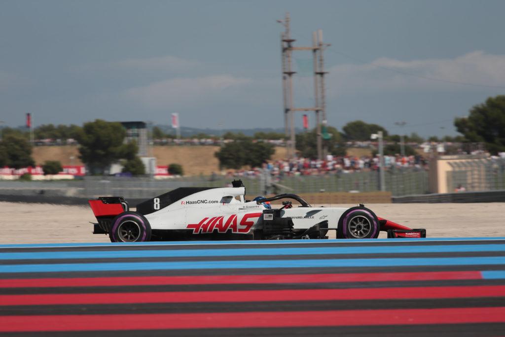 """F1   Haas, Grosjean: """"La macchina è molto veloce, sono felicissimo. Guidare a casa è speciale"""""""