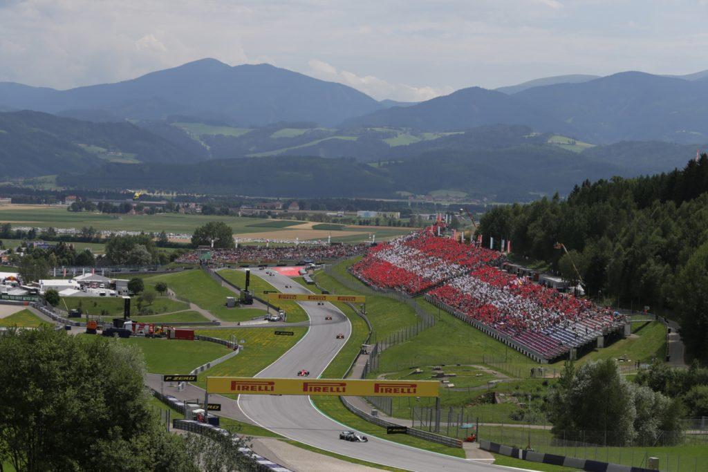 Gp Austria, Hamilton comanda le prime prove, Vettel quarto. Raikkonen è sesto