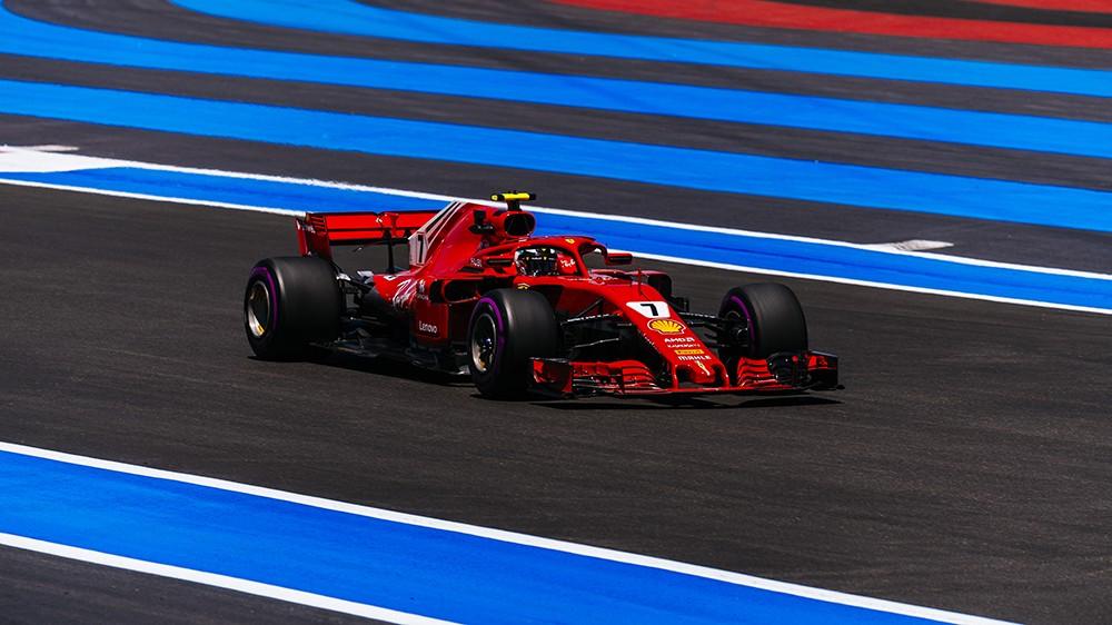 F1 Gran Premio di Francia | Ferrari, conclusa la prima sessione di libere sul tracciato di Le Castellet