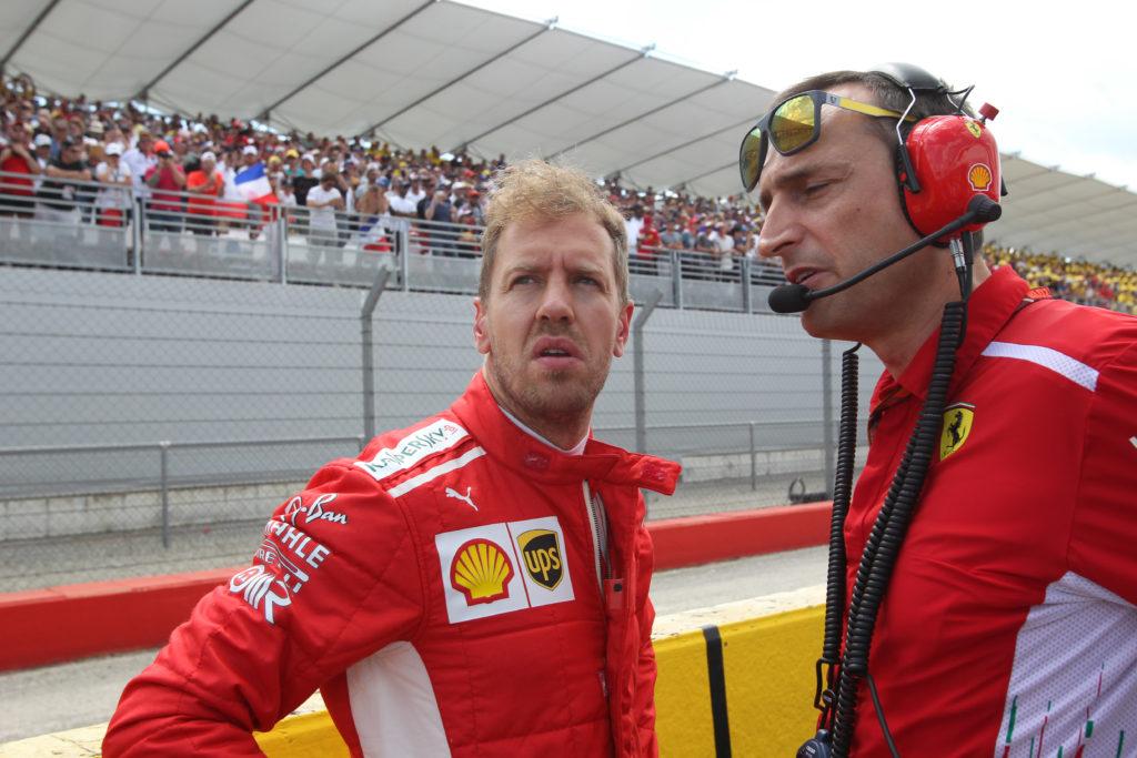 "F1   Vettel fa mea culpa: ""L'incidente è colpa mia, mi dispiace per Bottas"""