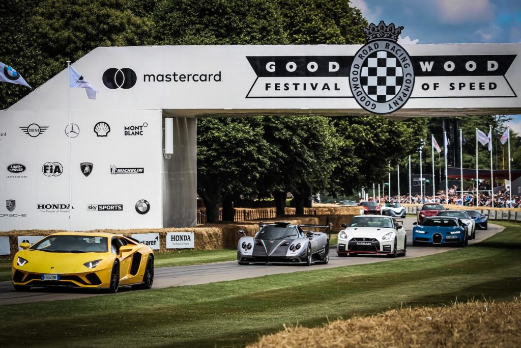 FOS | Bandiera verde a Goodwood per il Festival of Speed [DIRETTA STREAMING]