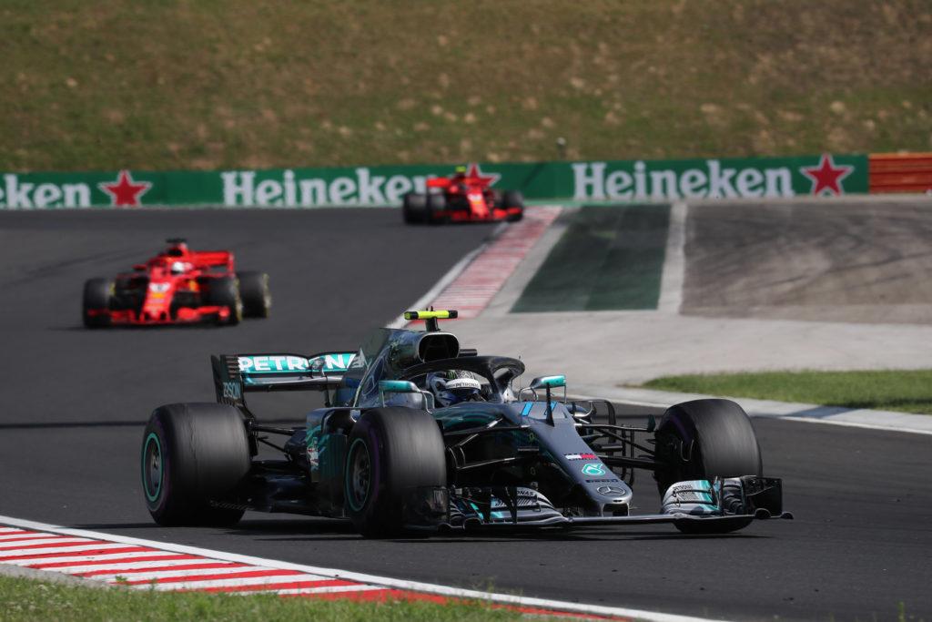 F1   GP Ungheria, Bottas penalizzato per la manovra ai danni di Ricciardo