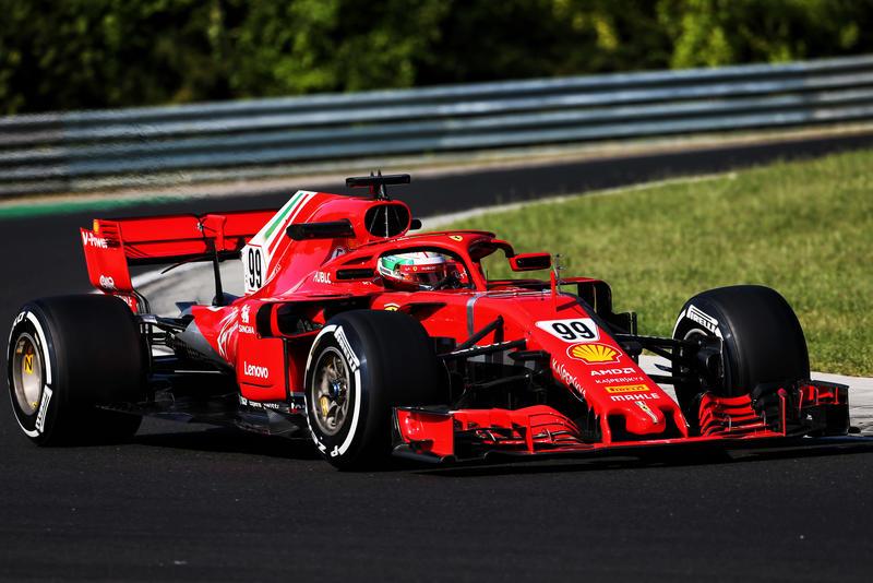 Test F1 Ungheria 2018, giorno 1: Giovinazzi da record con la Ferrari