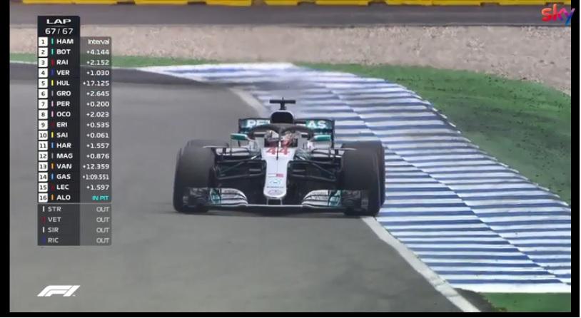 F1 | GP Germania, Hamilton vince e si riporta in vetta al campionato: l'ultimo giro della corsa [VIDEO]