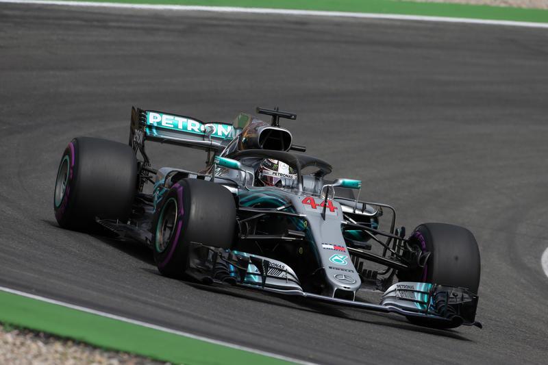 F1 GP Germania: Hamilton vince, Vettel finisce contro le barriere