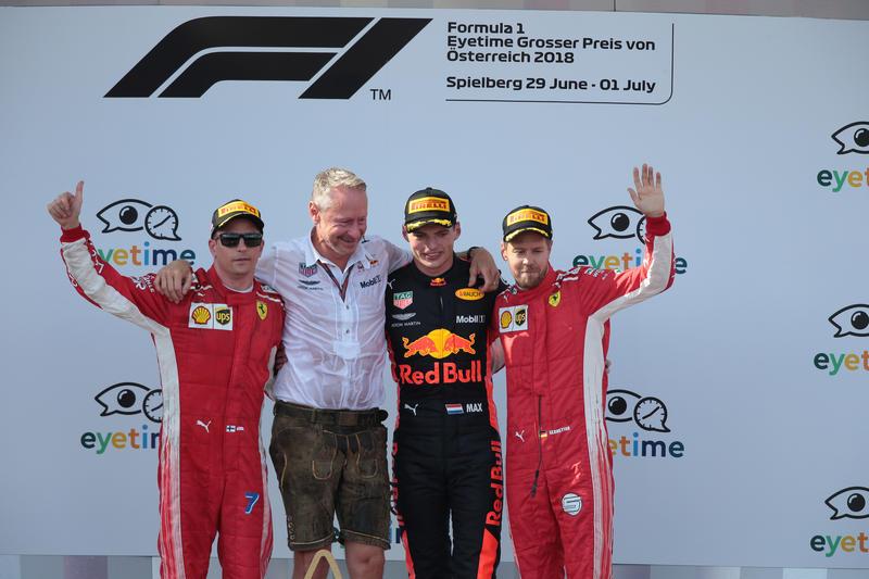 F1 | Pagelle GP Austria – Verstappen solido, Ferrari-Vettel in testa alle classifiche, Mercedes dalla prima fila… ai prati austriaci