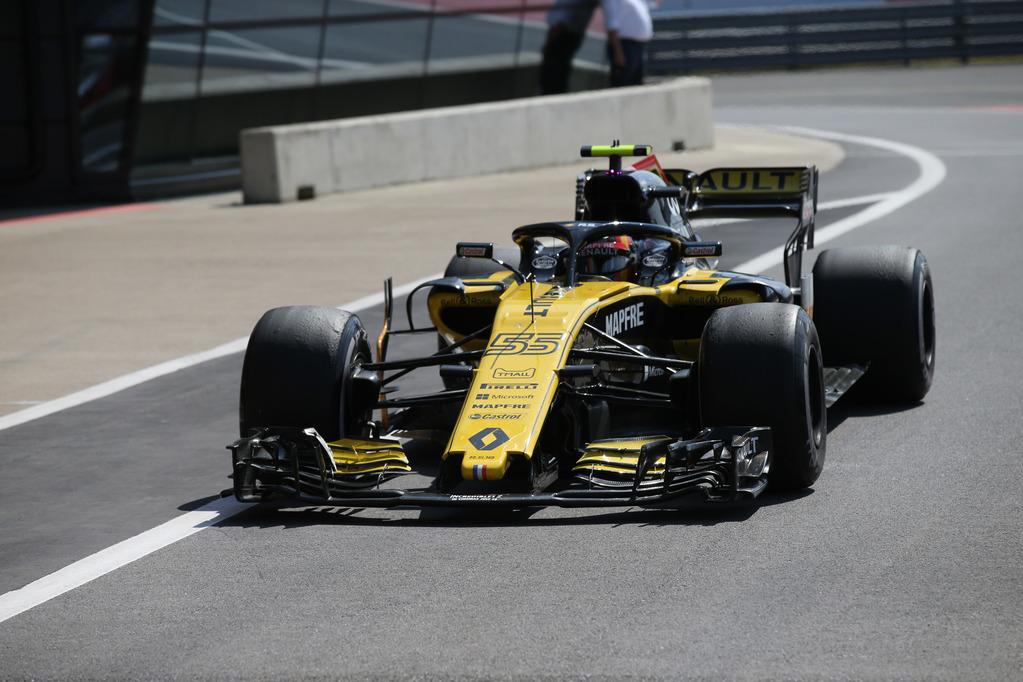 F1 | Renault: nuova ala anteriore in Germania