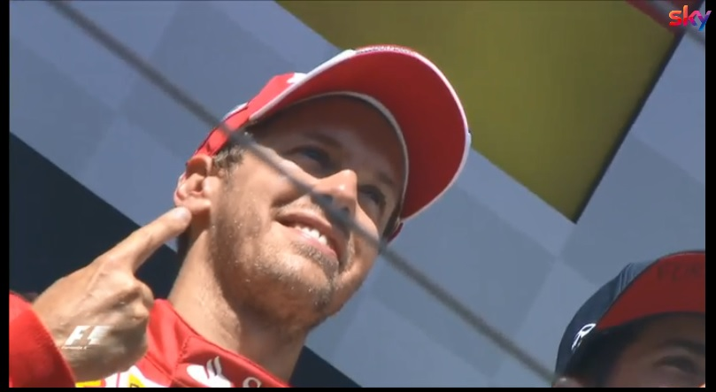 F1 | Successo storico per Sebastian Vettel a Silverstone: raggiunto Alain Prost a quota 51 vittorie [VIDEO]