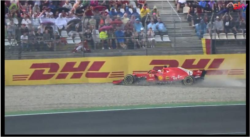 Vince Hamilton, Bottas 2°. Amarezza Vettel