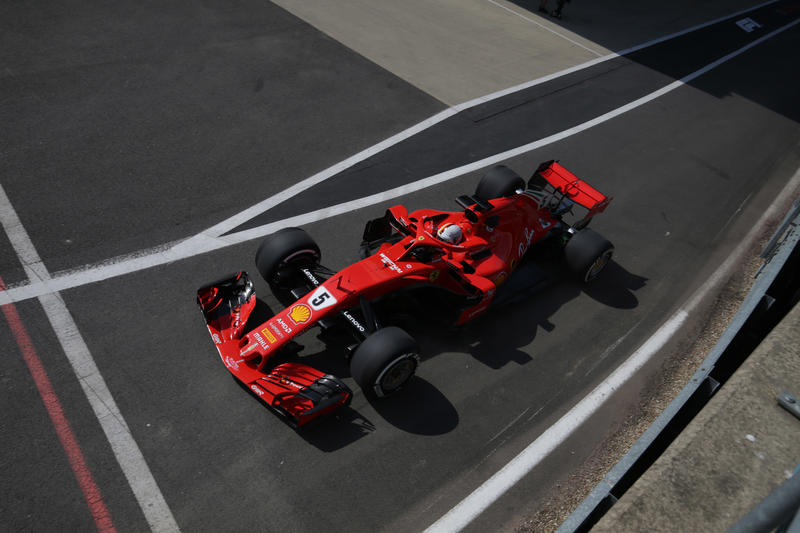 F1 GP Gran Bretagna, Prove Libere 2: Vettel al comando davanti alle due Mercedes