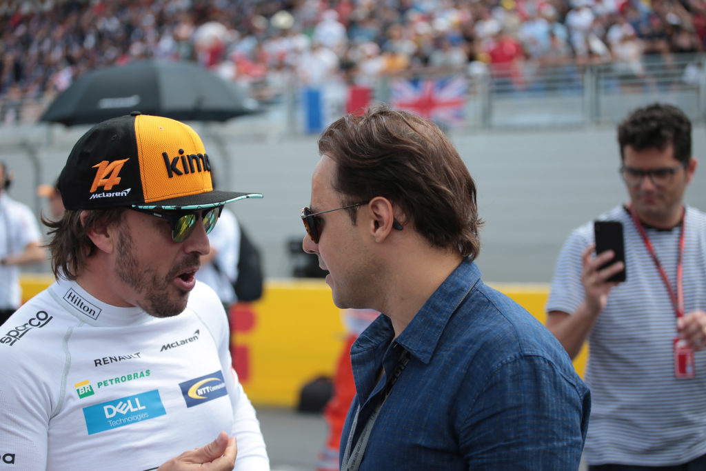 F1: Massa, Alonso divide i team