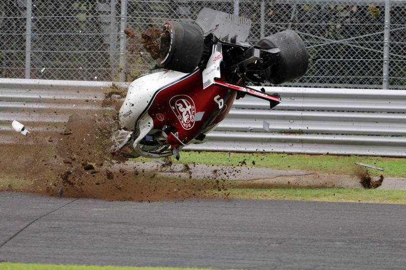 F1 | Che paura Ericsson! La dinamica dell'impatto [Video]
