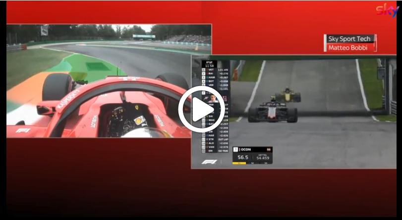 F1 | GP Italia, Vettel vs Hamilton: l'analisi delle vetture alla variante della Roggia [VIDEO]