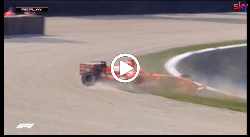 F1 | GP Italia, Vettel come Schumacher nel 2005: incidente in fotocopia alla Parabolica [VIDEO]