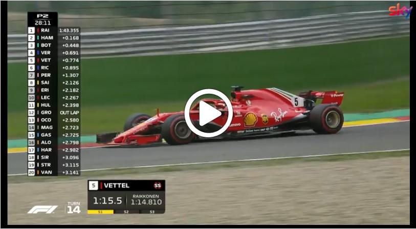 F1 | GP Belgio, Ferrari riparte col piede giusto dopo l'ultima pausa estiva [VIDEO]