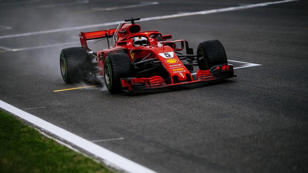 Gp Belgio, la pioggia sorride ancora ad Hamilton, Vettel secondo