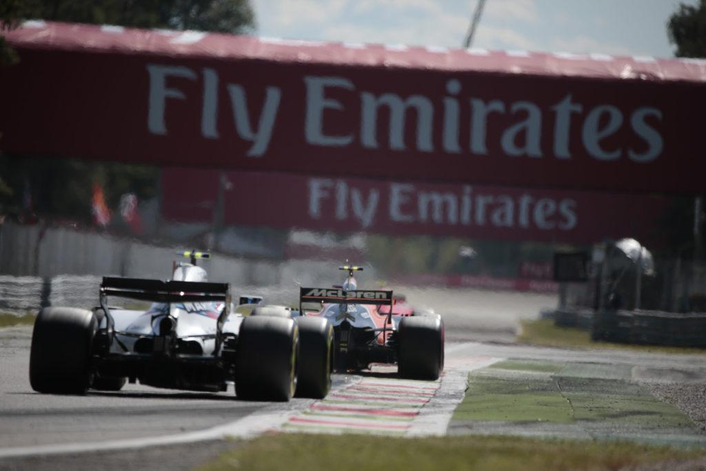 F1   Confermate le zone DRS per il Gran Premio d'Italia