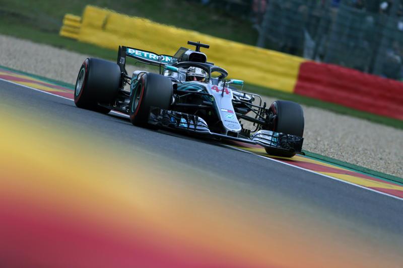 F1 GP Belgio, Qualifiche: arriva la pioggia e Hamilton fa sua la sesta pole stagionale