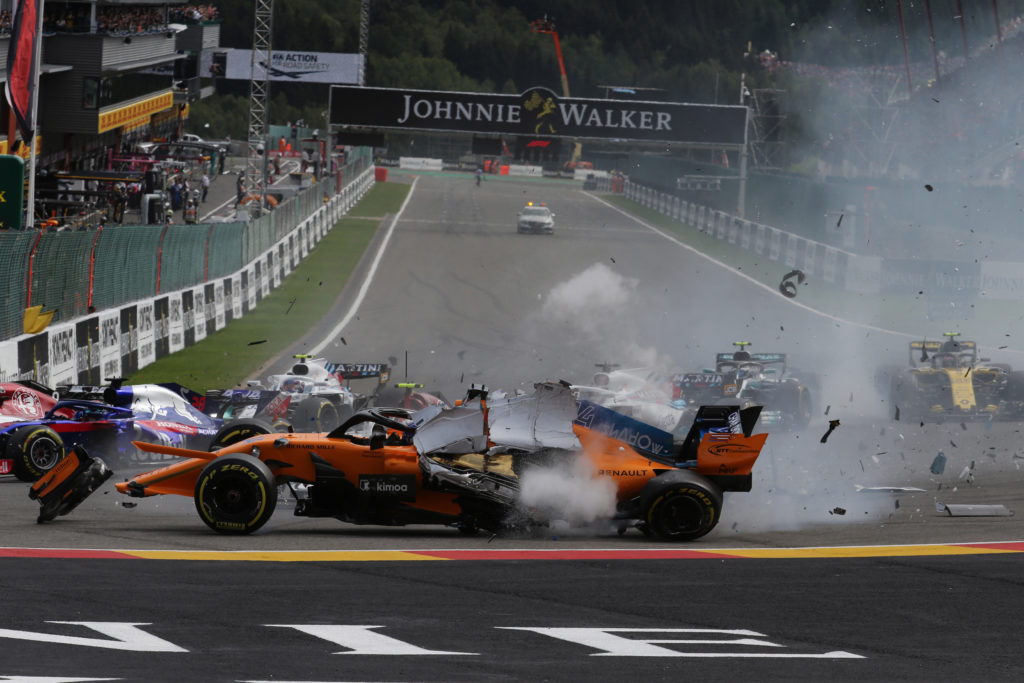 F1 | GP Belgio, quando al via l'incidente è lì in agguato