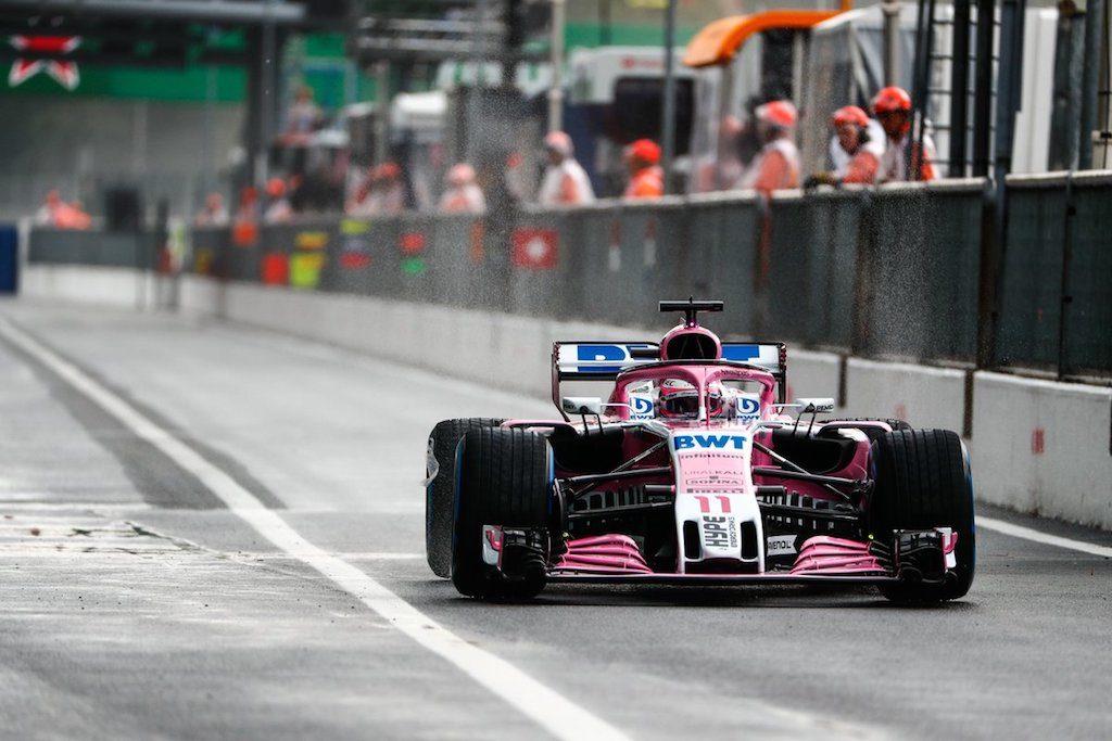F1 GP Italia, Prove Libere 1: al via sotto la pioggia e Perez è il più veloce