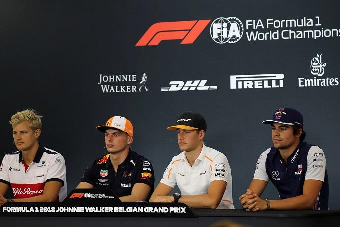F1 | Gp d'Italia: i piloti in conferenza stampa