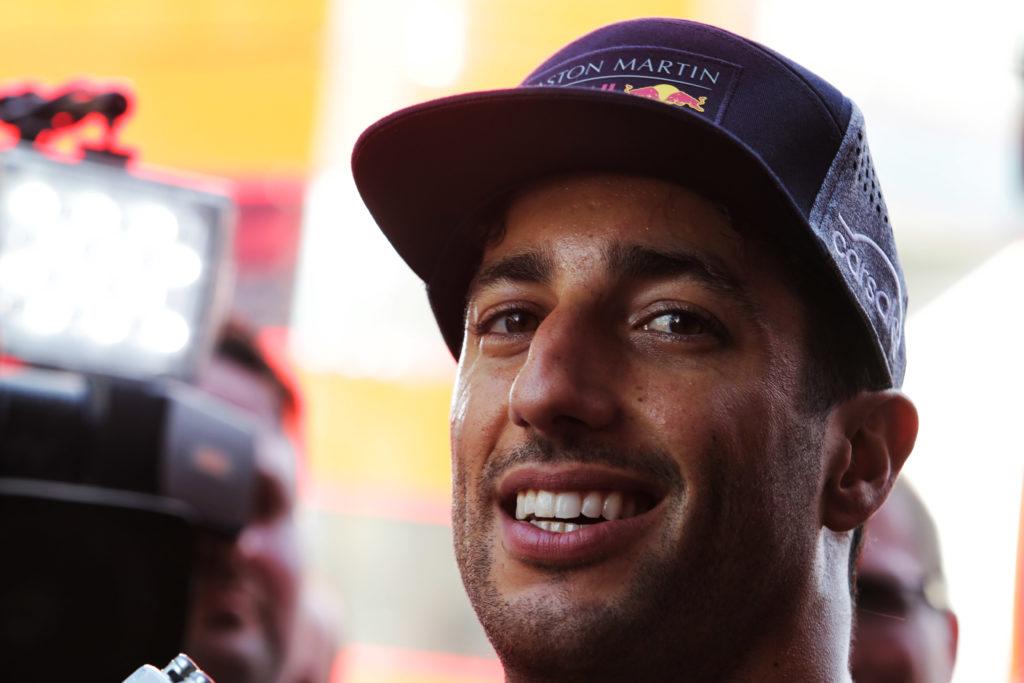 Daniel Ricciardo con Renault Formula 1 dal 2019