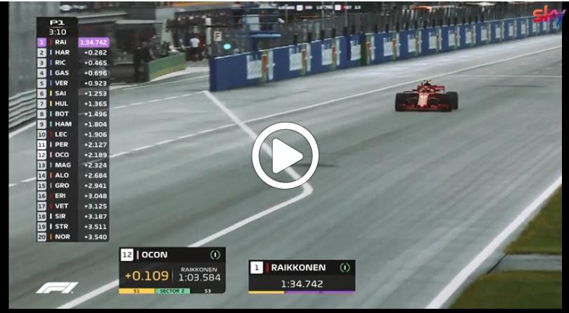 F1 | GP Italia, Vettel e Raikkonen subito al top nelle prime libere a Monza: gli highlights del venerdì [VIDEO]