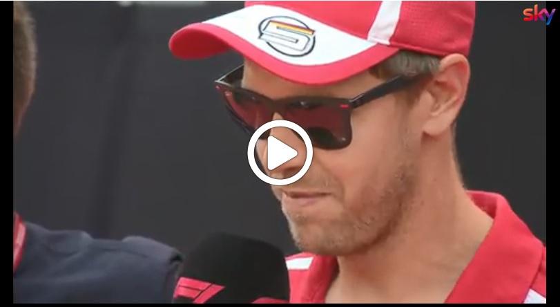 """F1   Ferrari, Vettel risponde agli appassionati: """"Il Mondiale? Ci provo"""" [VIDEO]"""